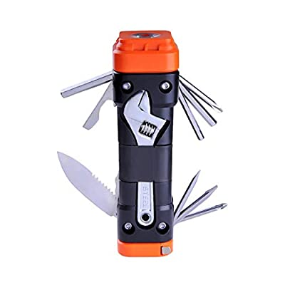 SadoTools Household Tool Kit - with High Grade Slotted Key Socket, Compact, Flexible for Autocycle, Bike and Home Usage