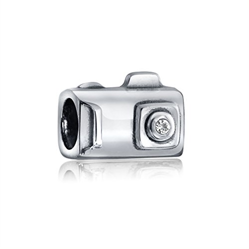 Bling Jewelry Digital Camera Photography Bead Charm .925 Sterling Silver