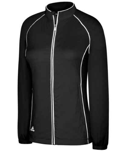 adidas Women's climaproof Wind Full-Zip Jacket '11 - Black - X-Small