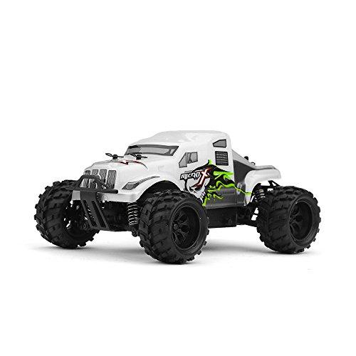 MicroX Racing 1/24 Micro Scale RC Monster Truck Ready to Run 2.4ghz (Micro Nitro Rc)