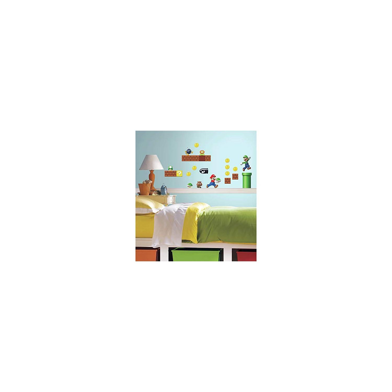 RoomMates Nintendo Super Mario Build A Scene Peel And Stick Wall Decals – RMK2351SCS