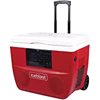 Edison Professional M-5 Ice Cooler Ice Blast Deluxe Bluetooth Personal Cooler