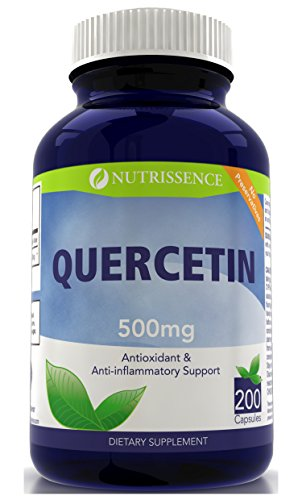 Quercetin 500mg 200 Capsules - Nutrissence