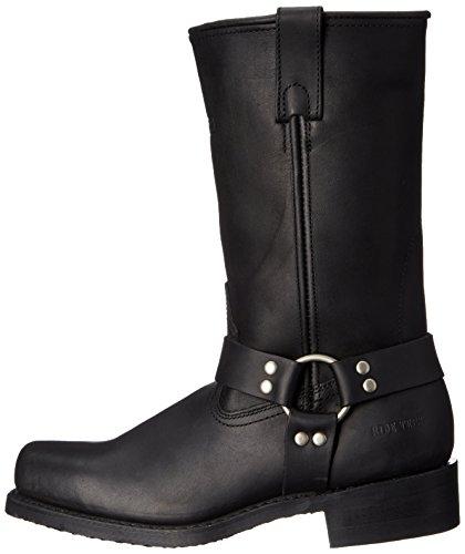 AdTec Men's 11 Inch Harness Motorcycle Boot, Black, 12 M US by Adtec (Image #5)