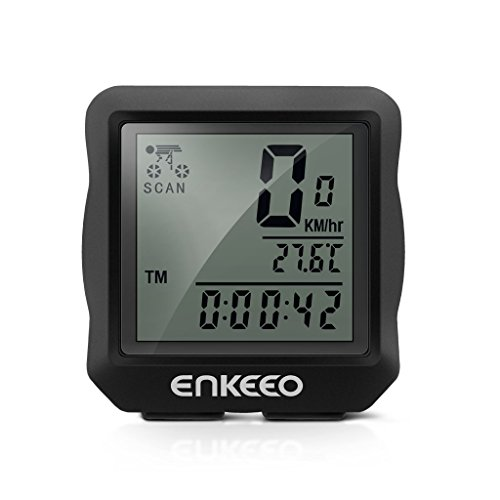 Enkeeo Computer Speedometer Stopwatch Multifunction