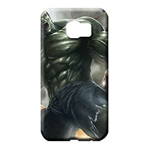 samsung galaxy s6 edge cases High-end New Snap-on case cover mobile phone carrying skins hulk