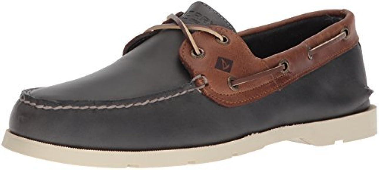 Sperry, Leeward Boat Shoe NAVY TAN