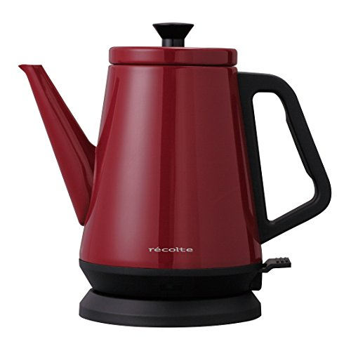 Red Classic Kettle - recolte Electric kettle Classic Libre 0.8L RCK-2VR (Vintage Red)【Japan Domestic genuine products】