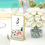 6 Pack Acrylic Picture Frames Clear Double Sided