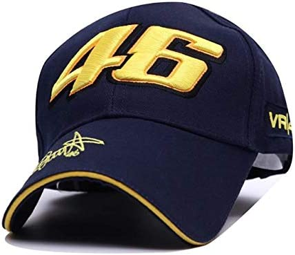 EASTVAPS Star Rossi VR46 Embroidery Baseball Cap Motorcycle hat Sport Racing hat