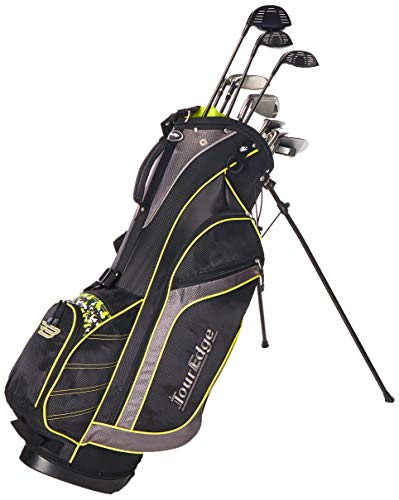 Tour Edge Golf Bazooka Steel Box Full Golf Club Set, Black (Best Clone Golf Drivers)
