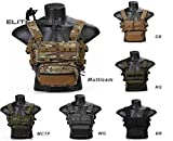 Elite Tribe MK3 Modular Lightweight Chest Rig Micro Fight Chissis 5.56 Mag Pouch