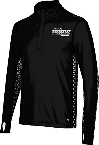 Men's Church Divinity of The Pacific College Geometric Half Zip Long Sleeve F08F2 by ProSphere