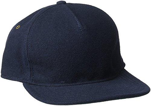 Goorin Bros. Men's Home Wool Baseball Dad Cap Made in USA, Navy, One (Adjustable Home Wool Cap)