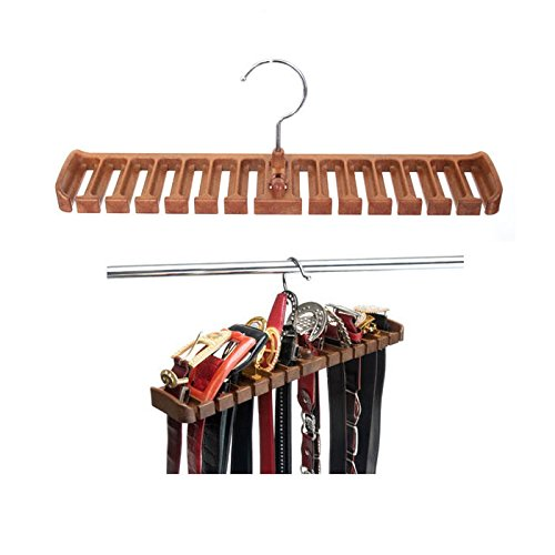 Belt Hanger Closet Accessories Hold 14 Belt by Young Jin