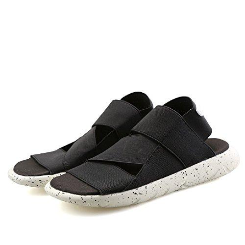 Peggie House Tamaño al aire libre de las sandalias de la caminata: 35-44 Negro & Blanco
