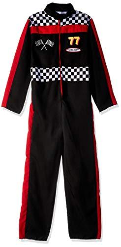 Fun World Race Car Driver Costume, Large 12-14, -