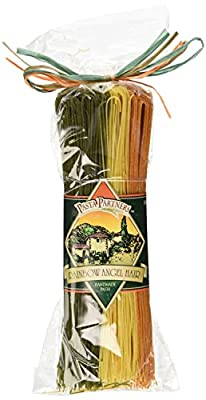 Pasta Partners Rainbow Angel Hair Pasta (No Oil), 12 Ounce