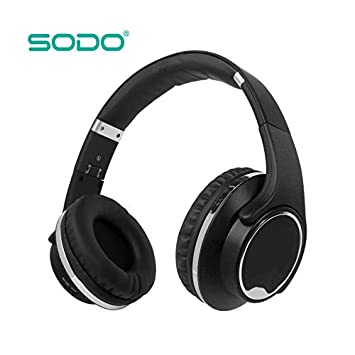 fb20cfdacb4 Image Unavailable. Image not available for. Colour: SODO MH1 Bluetooth  Headphones ...