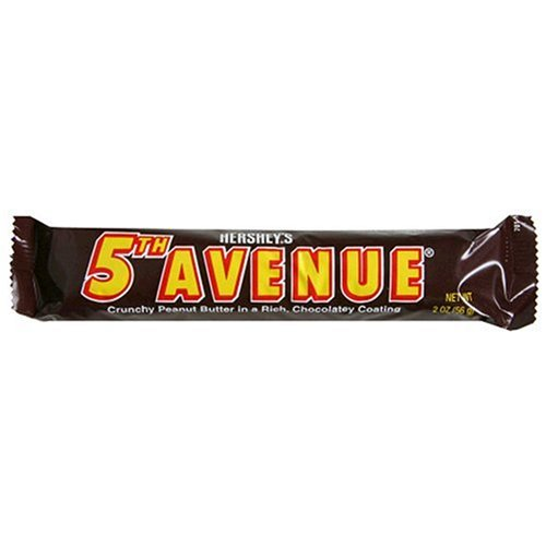 Fifth Avenue Bar - 5th Avenue Candy Bar, 2-Ounce Bars (Pack of 36)