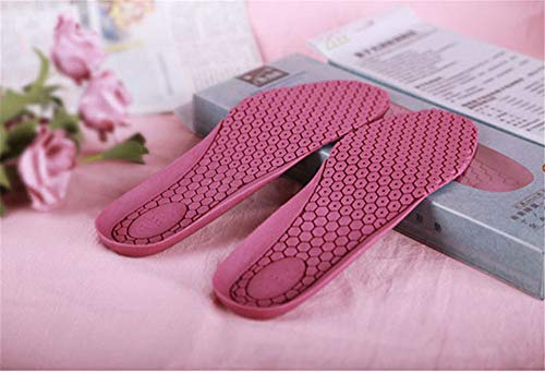GUJIAO Quantum Light Wave Multi-Function Deodorant Insole Massage Insole Sweat-Absorbent Breathable Can Be Cut,Female