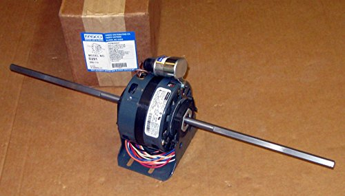 Motor, 1.1 HP, 4 SPDT, 115V, Double Shaft