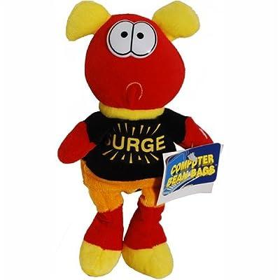 Surge - Computer Character Bean Bag Plush: Toys & Games