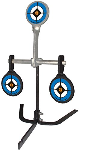 (Do-All Outdoors Steel Auto Resetting Spinner Shooting Target Rated for .38-.44 Caliber)