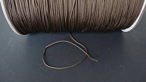 25 YARDS :1.8 MM Professional CHOCOLATE LIFT CORD for Blinds, Roman Shades & More Amazing Drapery Hardware
