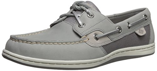 Grey sider Sparkle Women's 7 Koifish Us Sperry Boat Medium Shoe Top H5Iqnw0