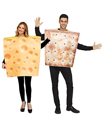 Easy Halloween Costume Ideas Teens (Fun World Cheese and Cracker Costumes for)