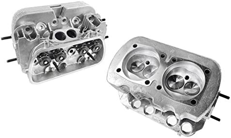 VW Bug Cylinder Head with Stainless Valves Stock Style Type 1 Dual Port Head