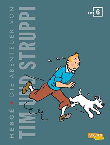 Tim und Struppi Kompaktausgabe 6 Gebundenes Buch – 25. August 2015 Hergé Carlsen 3551739110 Comic / Abenteuer