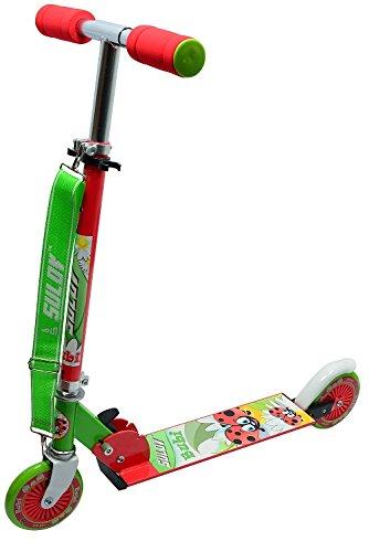 SULOV Roller Faltbare Alu Scooter Ladybug-Bubi - Patinete, talla 120 mm