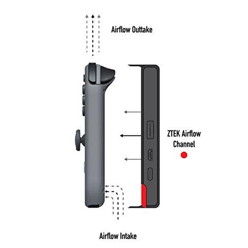 sale retailer 76ebd bc531 ZTEK Nintendo Switch 10,000mAh Battery Flip Case Mobile Phone Power ...