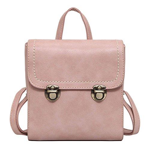 Shoulder Bag Ladies Handbag College Wind Pink