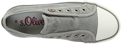 Zapatillas 5 grey S 5 Gris Mujer 38 oliver 200 24635 pXwqHwA