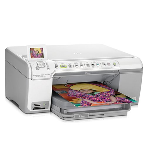 HP Photosmart C5280 All-in-One Printer/Scanner/Copier (Q8...