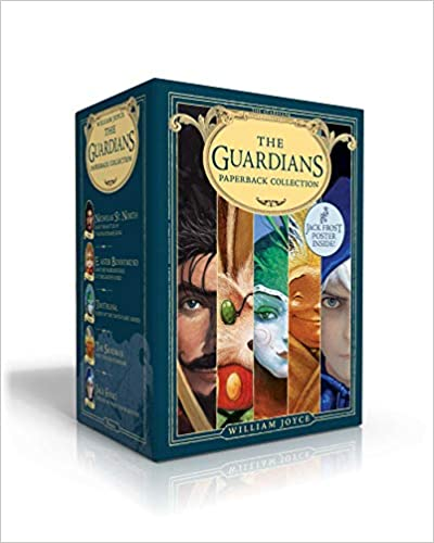 The Guardians Paperback Collection (Jack Frost poster inside!): NIcholas St. North and the Battle of the Nightmare King; E. Aster Bunnymund and the ... The Sandman and the War of Dreams; Jack Frost