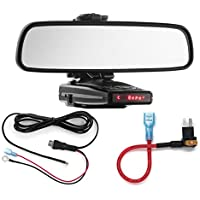 Radar Mount Mirror Mount + Direct Wire + Micro2 Add a Circuit - Escort 9500ix 8500x50 S55
