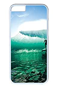 iphone 6 plus 5.5inch Case Wave Surfing PC Hard Plastic Case for iphone 6 plus 5.5inch Whtie