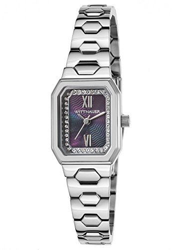 Wittnauer Silver Tone Baguette Case Watch WN4050 (Wittnauer Watch Wrist Silver)