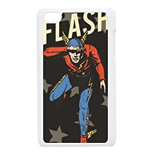 iPod Touch 4 Case White Retro Flash Stars SLI_568900