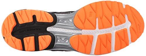 nero 8 M Scarpa Flux da corsa GEL da carbonio uomo 3 US arancione caldo wfF8qT