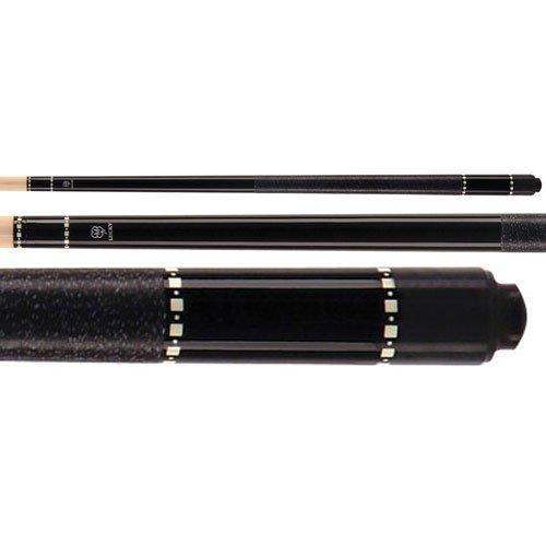 McDermott L12 Lucky Black Pool Billiard Cue Stick … (19oz) (Outlet Pool Cue)