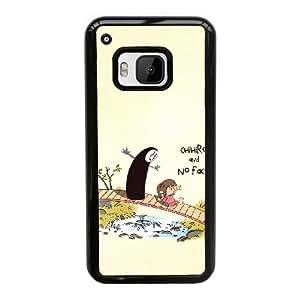 HTC One M9 phone case Spirited Away ogino chihiro Nigihayami Kohakunushi Hard Case Black 01