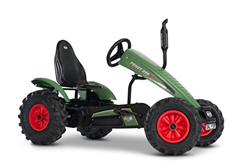 Fendt BFR-3 Gear Tractor Pedal Go Kart Green - BERG