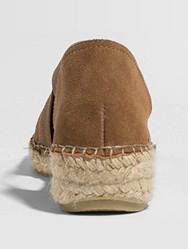 Claquettes psLyna Pieces Femme Sandales Pieces amp; Suede Chaussures Brun Chaussures Femme BxqXn61q4w