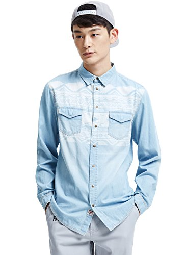 meters-bonwe-mens-fashion-long-sleeve-button-down-printed-denim-shirt-light-blue-xl