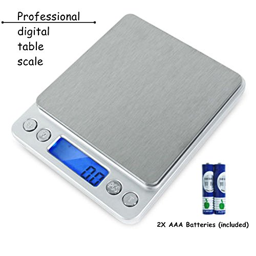 2000g/0.1g LCD Smart Digital Electronic Kitchen Food Diet Postal Scale Weight Ba TKT-11